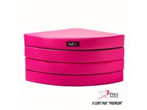 růžová, premium, 12cm