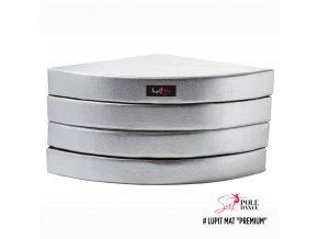 stříbrná, premium, 12cm