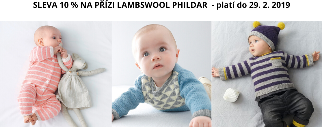 Příze Lamsbwool Phildar