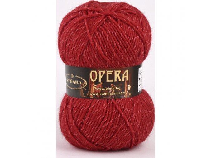 Opera 224 červená