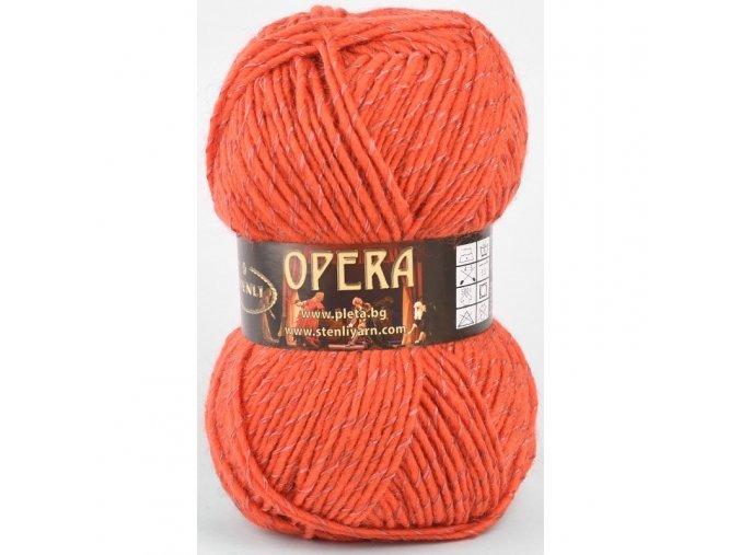 Opera 221 světle cihlová