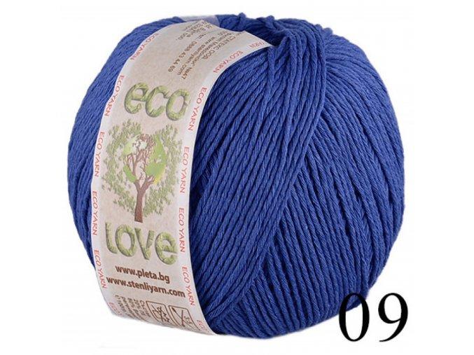 Eco love 09 královská modrá
