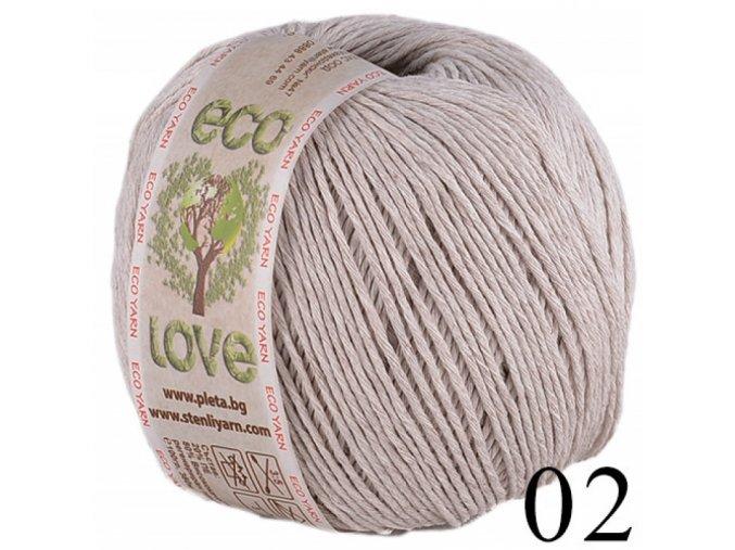Eco love 02 béžová