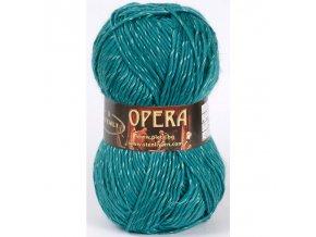 Opera 34 tmavě tyrkysová