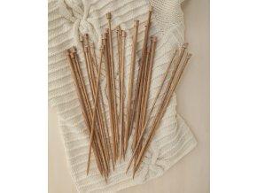 Pletací jehlice ze dřeva Phildar Naturel (2)