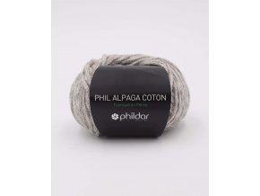 Pletací příze PHILDAR Alpaka bavlna Flanel