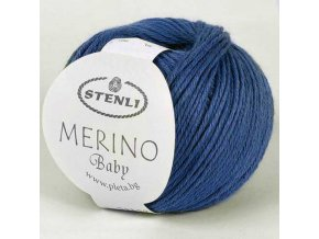 Merino Baby 155 denim