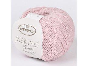 Merino Baby 332 růžová