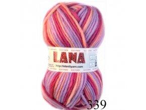Lana 339 růžovofialová
