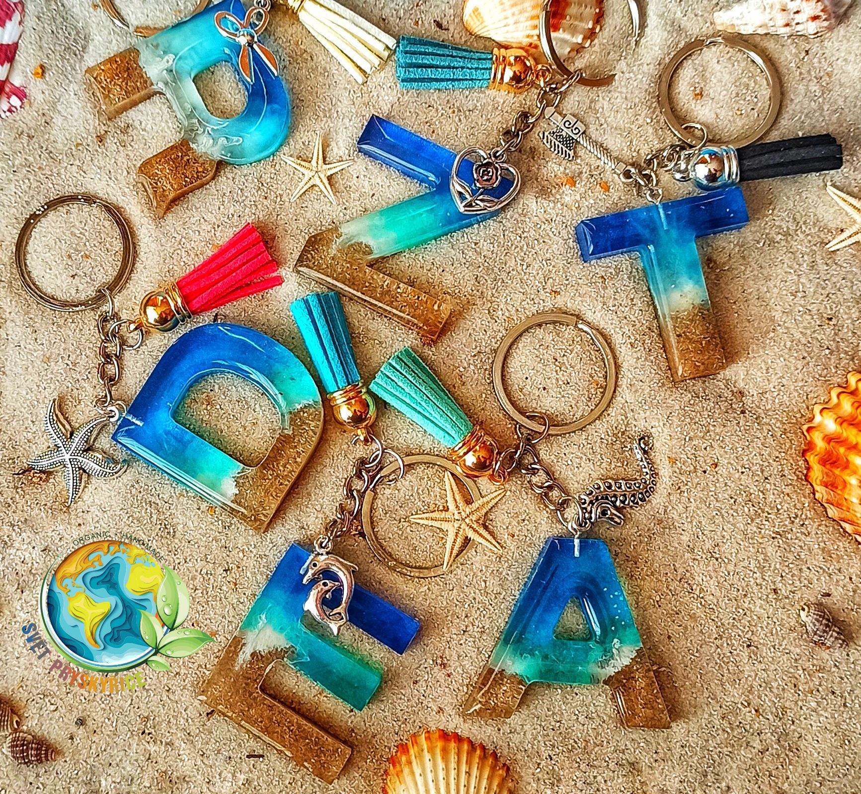 Přívěšek na klíče - Oceán