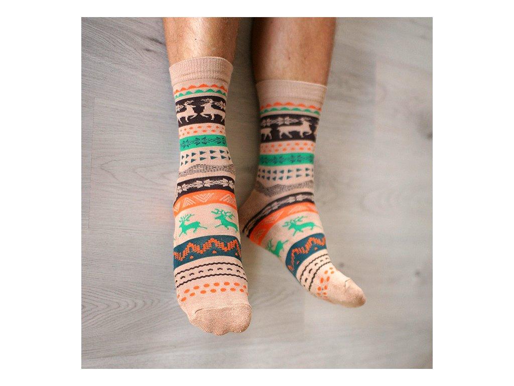 ponozky wapiti mocca2