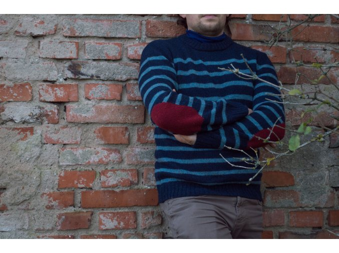 CHRISTORY| Pánský svetr 100% Shetland wool