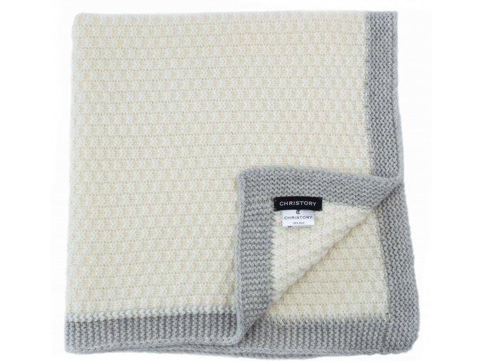 Dětská pletená deka