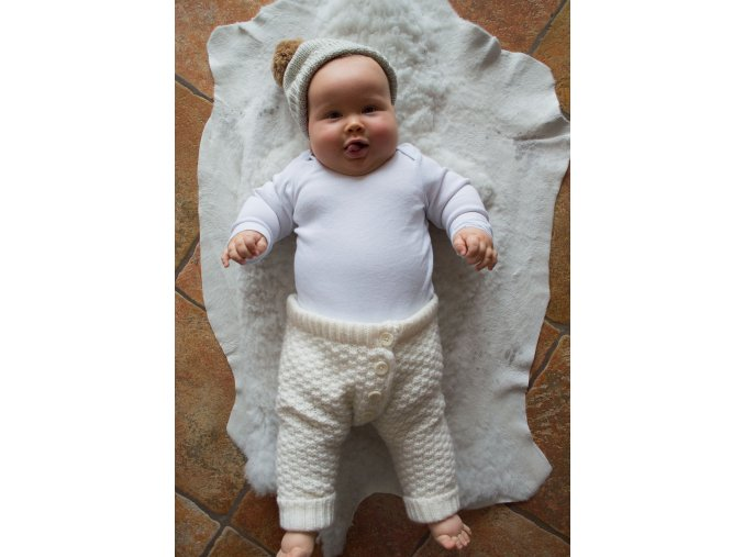 CHRISTORY| Dětské pletené kalhotky