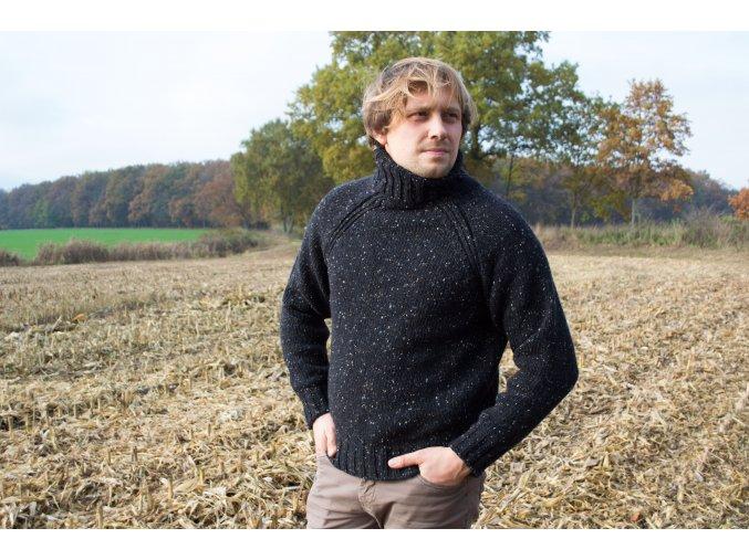 pánský svetr ze 100% donegal wool