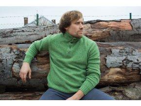 CHRISTORY| Pánský svetr 100% Lambswool
