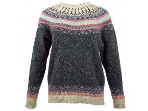 Dámský svetr s Fair Isle vzorem