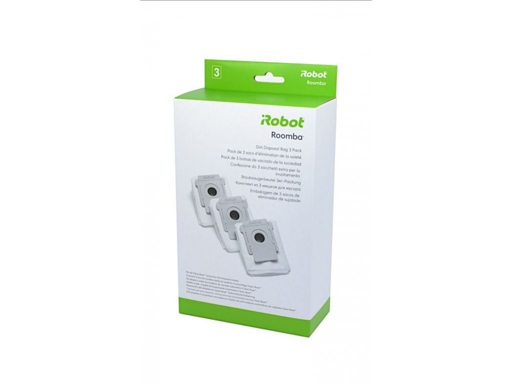 Náhradní sáčky do CleanBase pro iRobot Roomba i7+ a s9+
