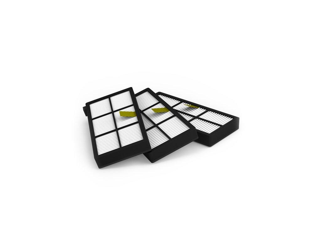 AeroForce® HEPA filtry pro iRobot Roomba 800/900 3ks