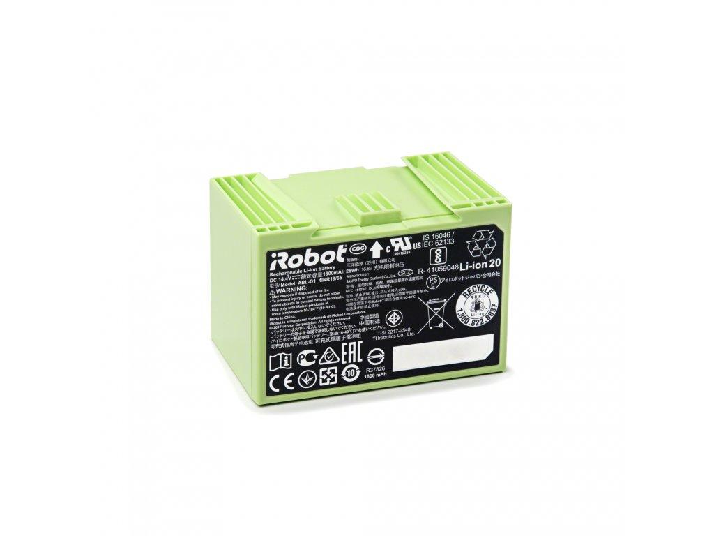 Baterie pro iRobot Roomba série e/i 1800 mAh