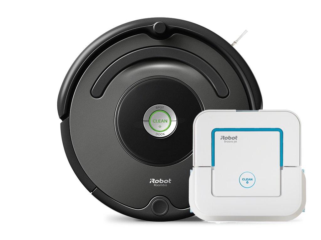 iRobot set Roomba 676 / Braava jet 240