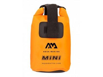 vodotesny vak aqua marina mini dry bag orange