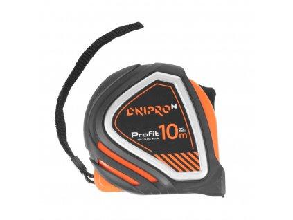 """Svinovací metr """"DNIPRO-M"""" Profit (magnet, vložky TPR) 10m, 25 mm"""