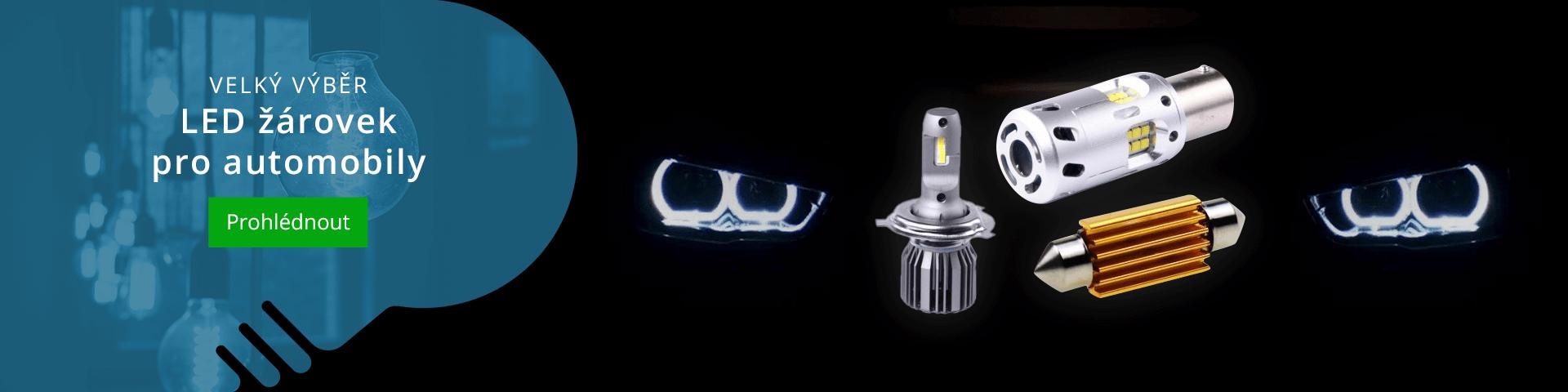 LED žárovky pro automobily