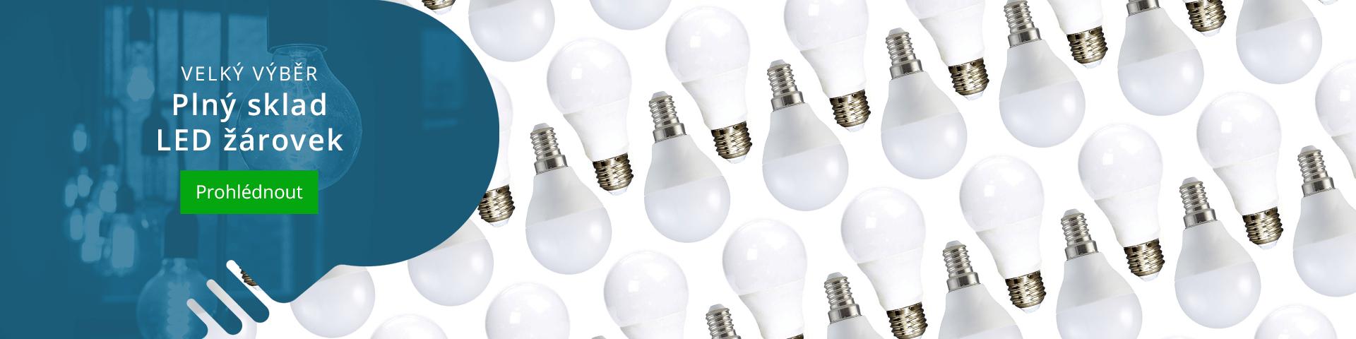 LED žárovky pro domácnost