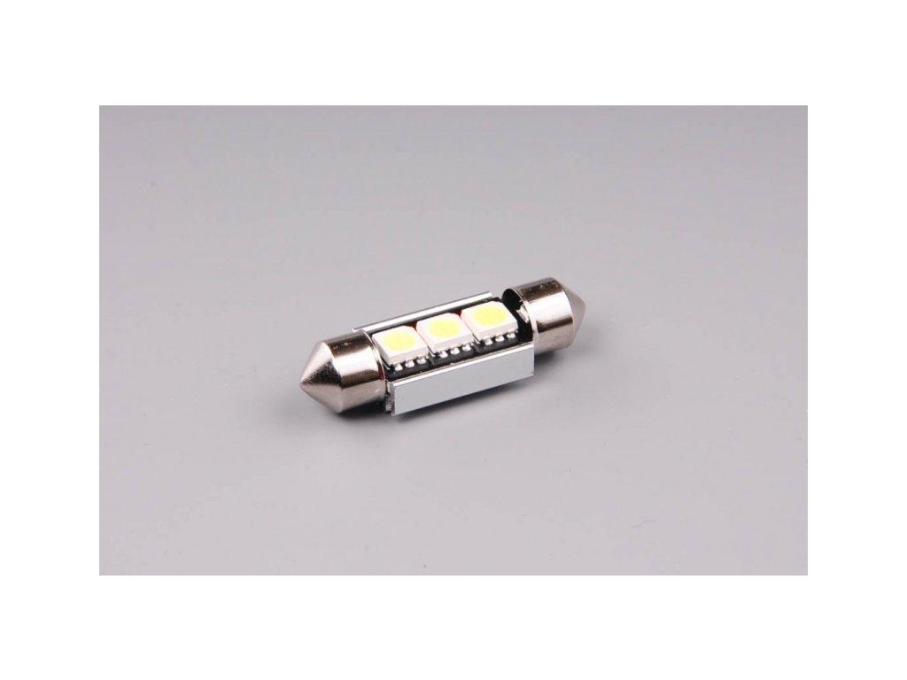 LED 12V 10W SV 36mm 3xLED 5050 CANBUS nepolarizovaná