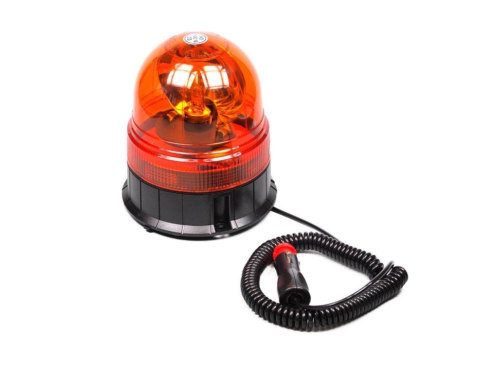 maják magnetický 12/24V Vision Pro halogenový, oranžový