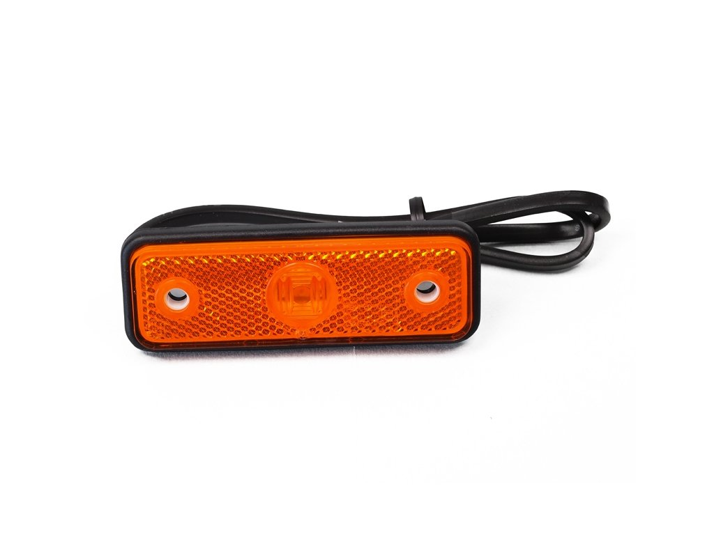 poziční LED světlo 12/24V, oranžové
