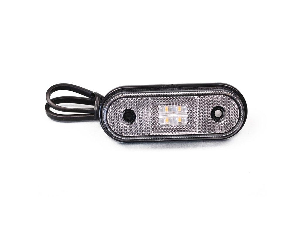 poziční LED světlo 12/24V, bílé