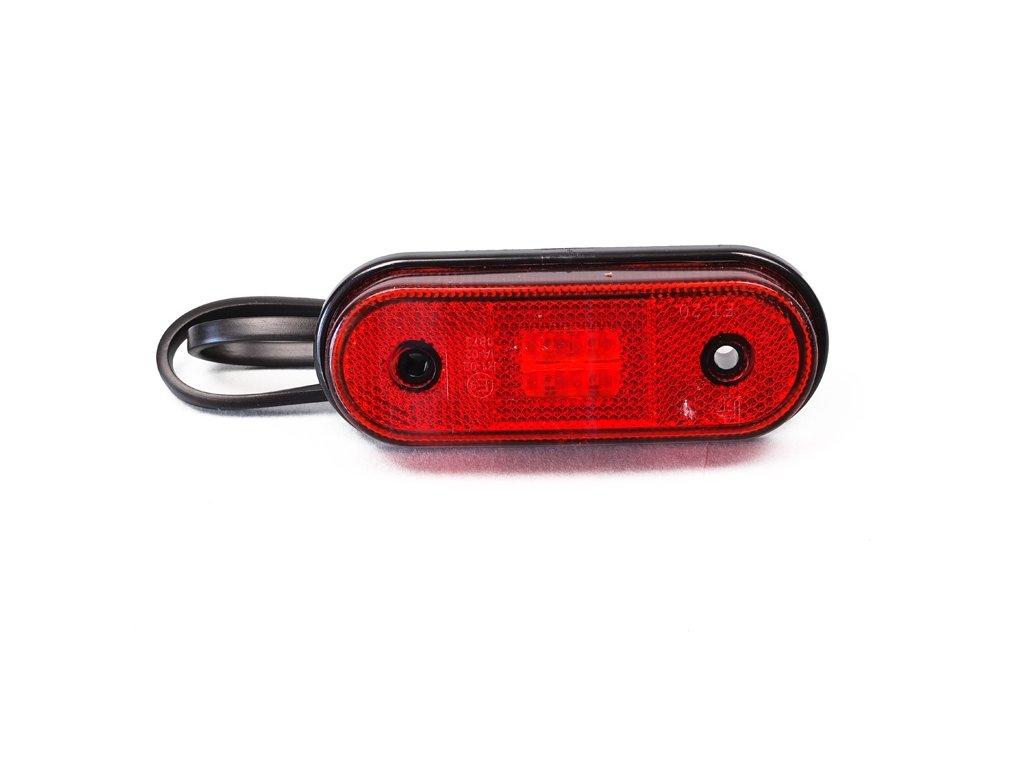poziční LED světlo 12/24V, červené