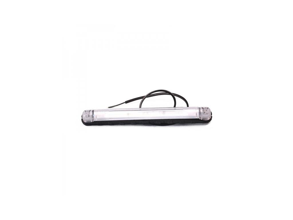 poziční LED světlo 12/24V, dlouhé, červené