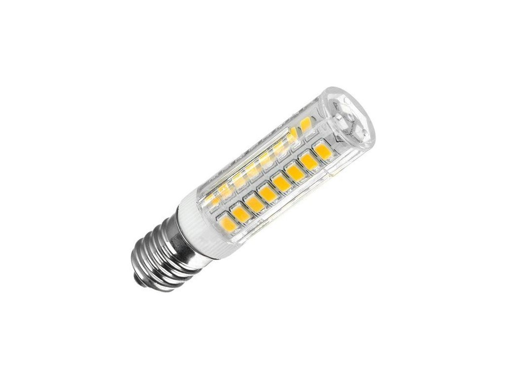 Žárovka LED E14 corn, 75xSMD2835, 230V/4,5W, teplá bílá