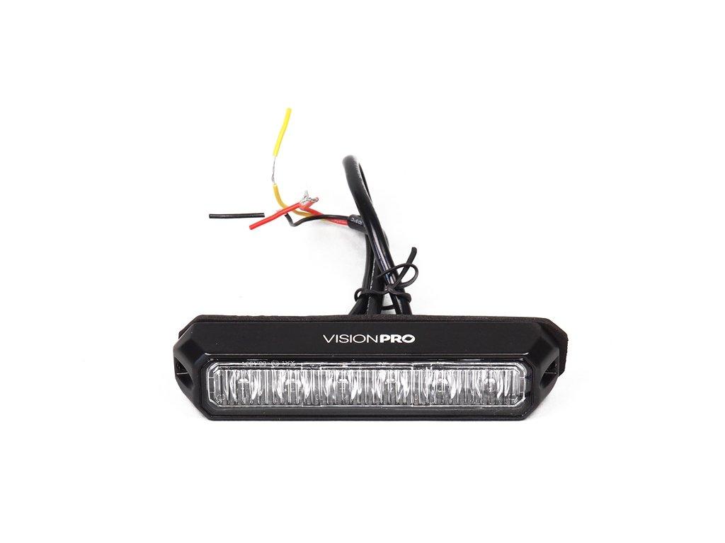 strobo maják - predátor 12/24V Elta, 6x LED, oranžový