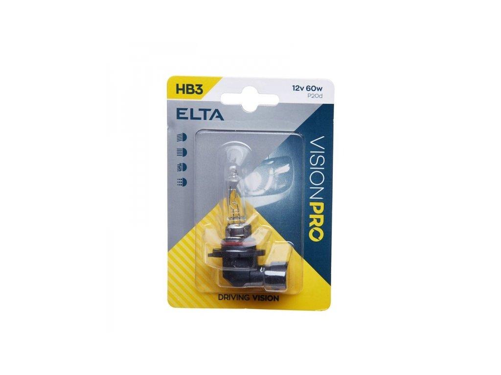 12V HB3 60W P20d, Elta, blistr