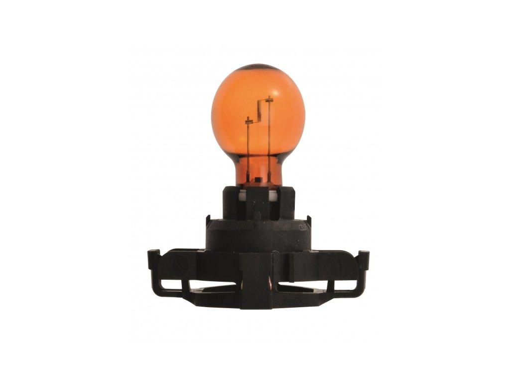 12V 24W PGU20-4 PY24W oranžová, Elta