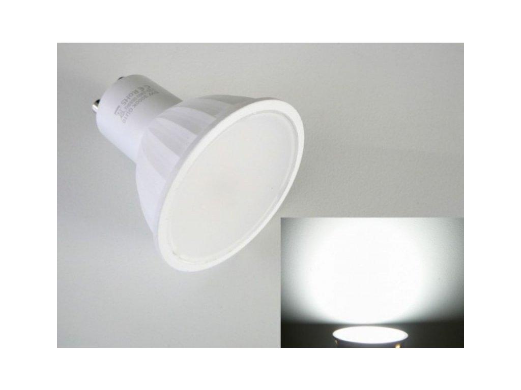 LED žárovka GU10 5W LU5W LUMENMAX - Studená bílá