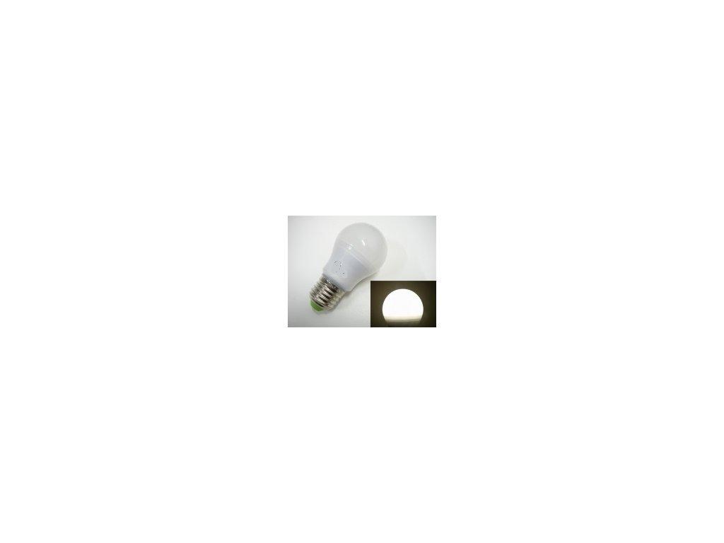 LED žárovka E27 SA6W 360° - Denní bílá