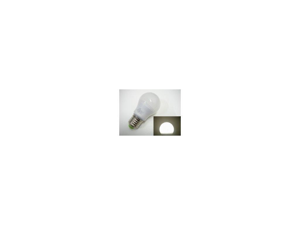 LED žárovka E27 SA6W 360° - Studená bílá