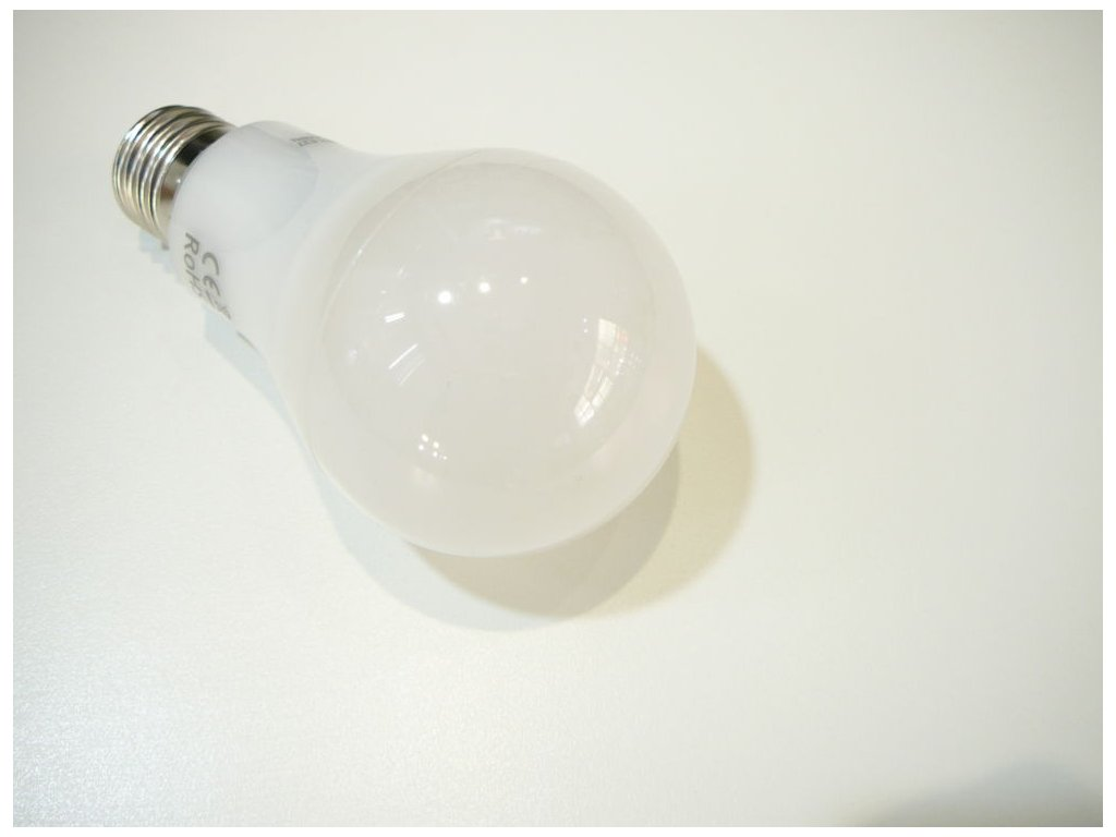 LED žárovka E27 R12W-280 - Teplá bílá