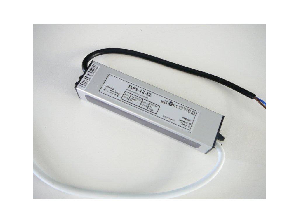 LED zdroj 12V 12W IP67 - 12V 12W zdroj IP67 TLPS-12-12