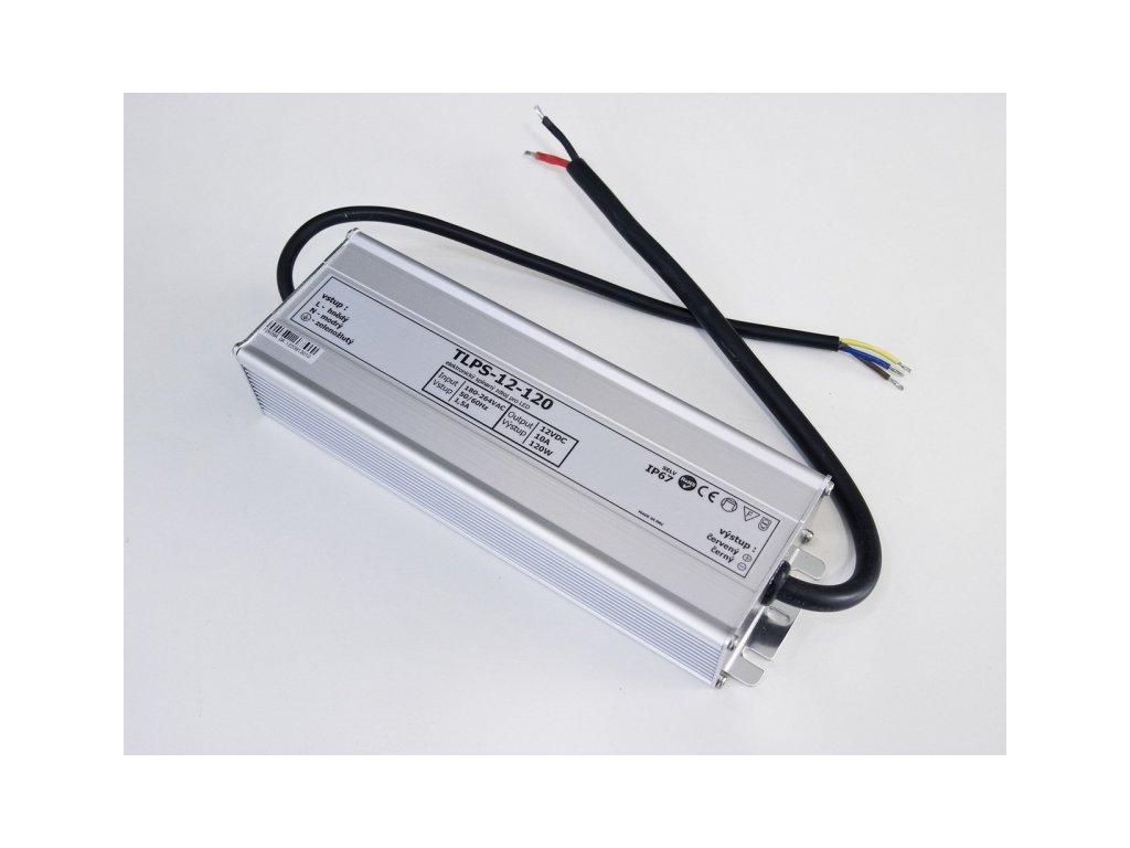 LED zdroj 12V 120W IP67 - 12V 120W zdroj IP67 TLPS-12-120