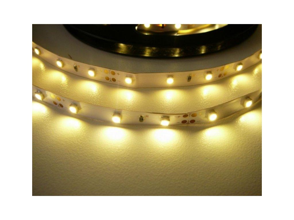 LED pásek 5m 4,8W ECONOMY - Teplá bílá