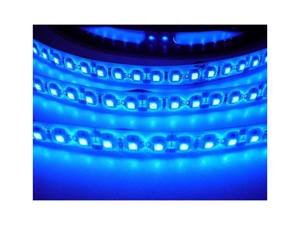 LED pásek vnitřní SQ3-600 - Modrá