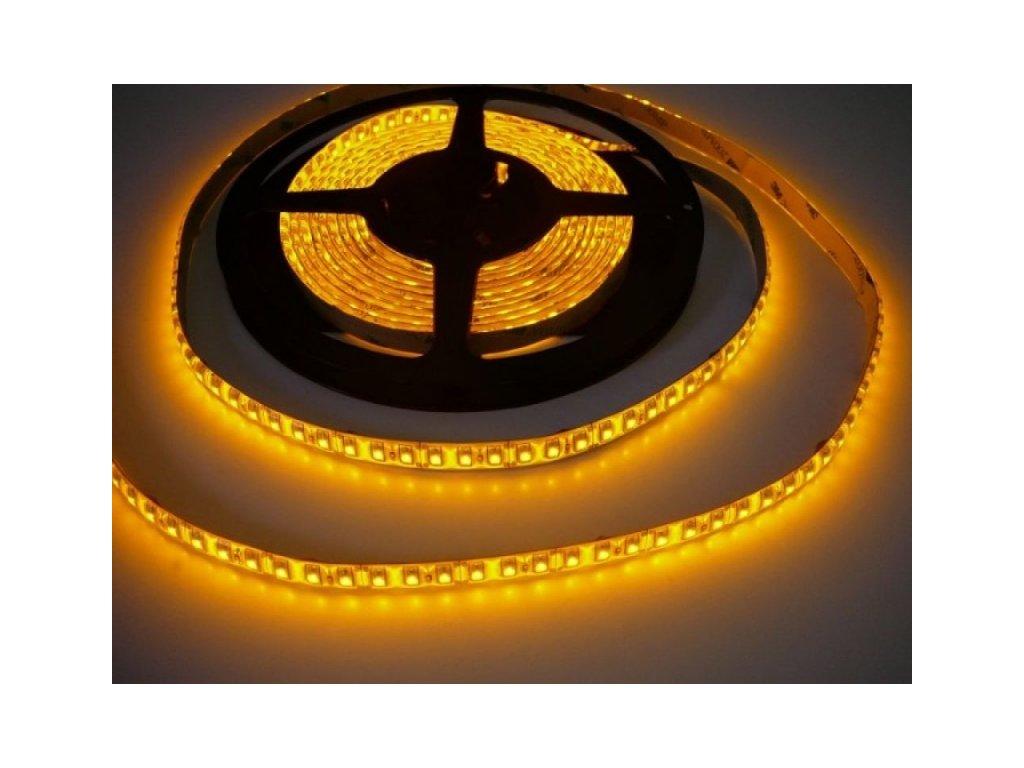 LED pásek zalitý SQ3-W600 - Žlutá