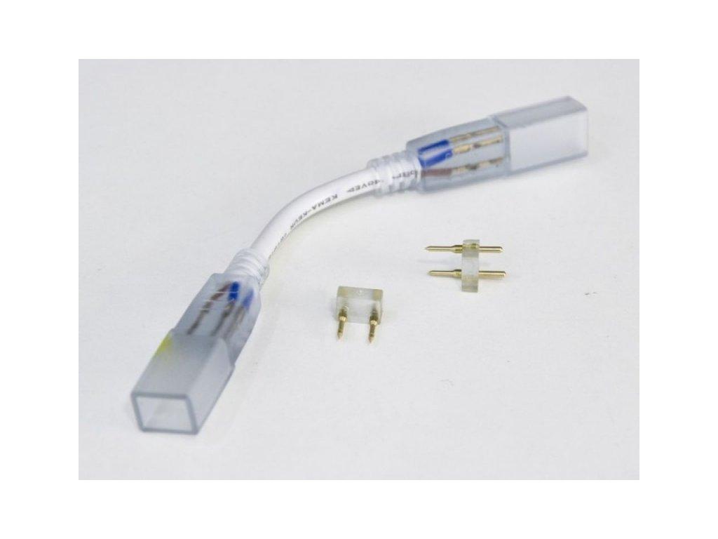 Spojka LED pásku na 230V s kabelem - Spojka pásků 230V3
