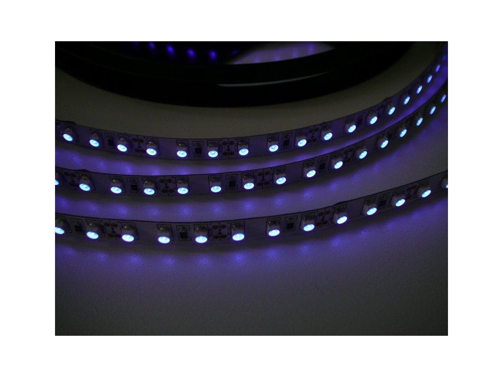 UV LED pásek 9,6W original UV čip - UV